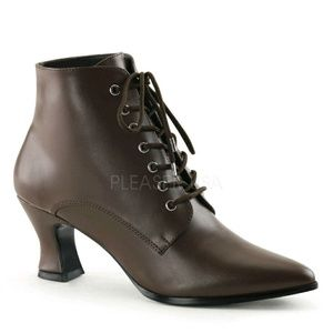 VICTORIAN ANKLE BOOT...SIZE 12WW